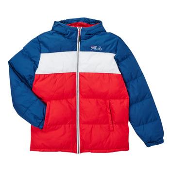 material Boy Duffel coats Fila BELOMA Red / Marine