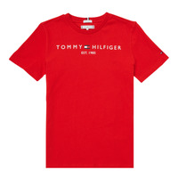 material Boy short-sleeved t-shirts Tommy Hilfiger SELINERA Red
