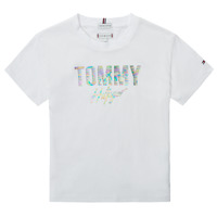 material Girl short-sleeved t-shirts Tommy Hilfiger SAMIA White