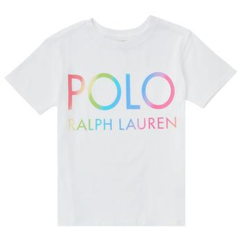 material Girl short-sleeved t-shirts Polo Ralph Lauren FERILO White