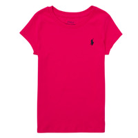 material Boy short-sleeved t-shirts Polo Ralph Lauren ASKIRA Pink