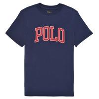 material Girl short-sleeved t-shirts Polo Ralph Lauren MATIKA Marine