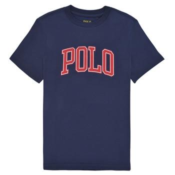 material Boy short-sleeved t-shirts Polo Ralph Lauren MALIKA Marine