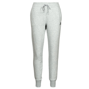 material Women Tracksuit bottoms Converse WOMENS EMBROIDERED STAR CHEVRON PANT BB Grey
