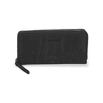 Bags Women Wallets Desigual MANDARALA FIONA Black