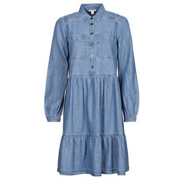 material Women Short Dresses Esprit COO DRESS Blue