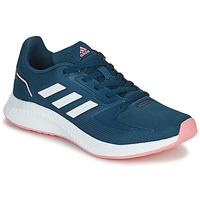 Shoes Girl Running shoes adidas Performance RUNFALCON 2.0 K Blue / Pink