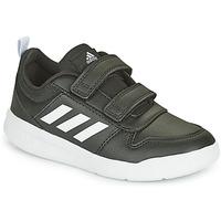 Shoes Children Low top trainers adidas Performance TENSAUR C Black / White