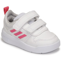 Shoes Girl Low top trainers adidas Performance TENSAUR I White / Pink