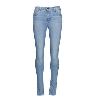 material Women Skinny jeans Levi's 720 HIRISE SUPER SKINNY Blue