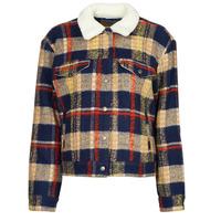 material Women Denim jackets Levi's WOOL TRUCKER Multicolour
