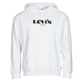 material Men sweaters Levi's T2 RELAXED GRAPHIC PO White