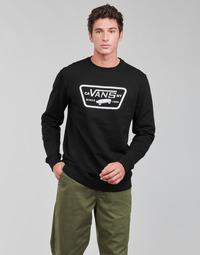 material Men sweaters Vans FULL PATCH CREW II Black