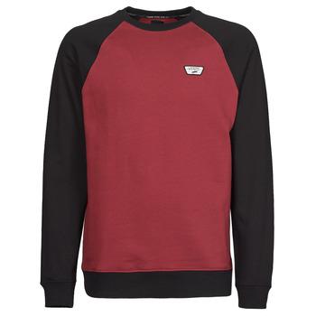 material Men sweaters Vans RUTLAND III Bordeaux / Black