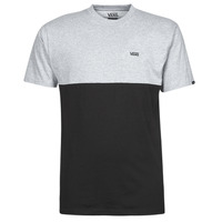 material Men short-sleeved t-shirts Vans COLORBLOCK TEE Grey / Black