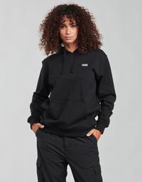 material Women sweaters Vans FLYING V BF FT HOODIE Black