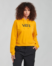 material Women sweaters Vans FLYING V FT BOXY HOODIE Yellow
