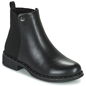 Shoes Women Mid boots Les Petites Bombes CALLISTA Black