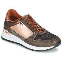 Shoes Women Low top trainers Les Petites Bombes CINDY Gold / Bronze