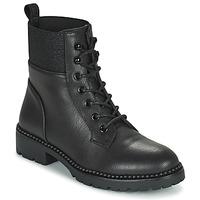 Shoes Women Mid boots Les Petites Bombes AMBELLINE Black