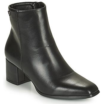 Shoes Women Ankle boots Les Petites Bombes CARINE Black