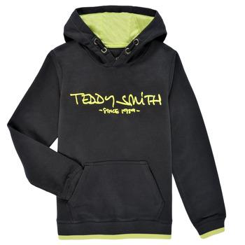 material Boy sweaters Teddy Smith SICLASS HOODY Black