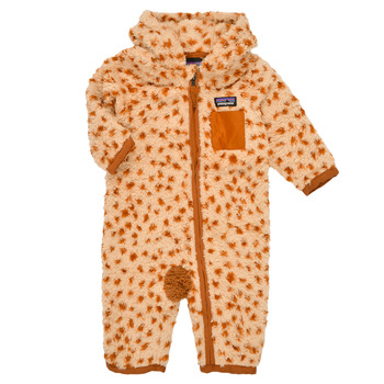 material Children Jumpsuits / Dungarees Patagonia FURRY FRIENDS BUNTING Brown