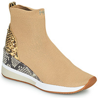 Shoes Women High top trainers MICHAEL Michael Kors SKYLER Beige