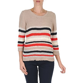 material Women jumpers S.Oliver ZARA BEIGE / Blue / White / Orange