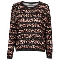 material Women jumpers Liu Jo WF1538 Leopard
