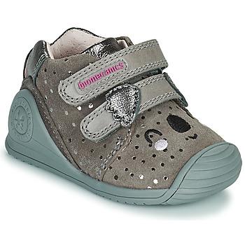 Shoes Girl Low top trainers Biomecanics BIOGATEO CASUAL Taupe