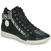 Shoes Women High top trainers Pataugas PALME Black