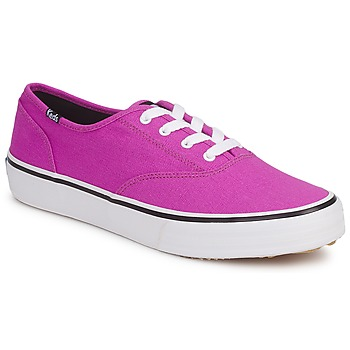 Shoes Women Low top trainers Keds DOUBLE DUTCH SEASONAL SOLIDS Pink