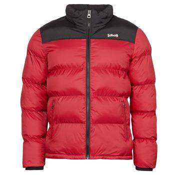 material Duffel coats Schott UTAH Red