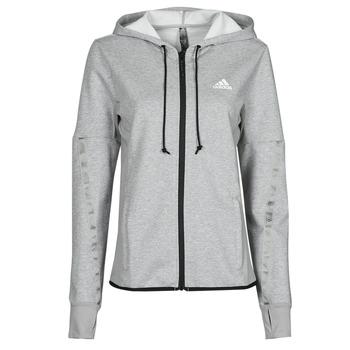 material Women Jackets adidas Performance METRED Grey / Medium
