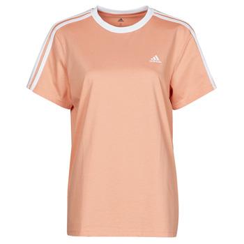 material Women short-sleeved t-shirts adidas Performance WESBEF Blush / Ambiant