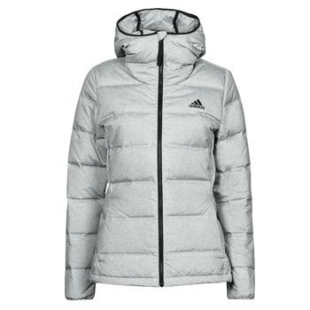 material Women Duffel coats adidas Performance WEHELIONICMEL Grey / Dark