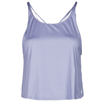 material Women Tops / Sleeveless T-shirts adidas Performance YOGA CROP Violet / Orbite