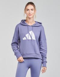 material Women sweaters adidas Performance WIFIEB HOODIE Violet