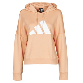 material Women sweaters adidas Performance WIFIEB HOODIE Blush