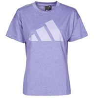 material Women short-sleeved t-shirts adidas Performance WEWINTEE Orbit / Violet