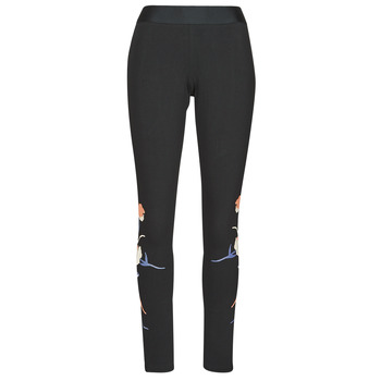 material Women leggings adidas Performance FLORL GFX TIGHT Black