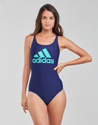 material Women Swimsuits adidas Performance SH3.RO BOS S Blue / Victory