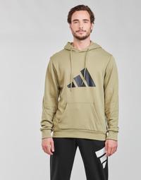material Men sweaters adidas Performance M FI 3B HOODIE Green