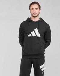 material Men sweaters adidas Performance M FI 3B HOODIE Black
