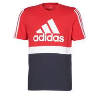 material Men short-sleeved t-shirts adidas Performance M CB T Scarlet