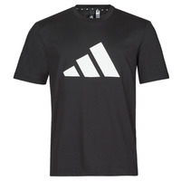 material Men short-sleeved t-shirts adidas Performance M FI 3B TEE Black
