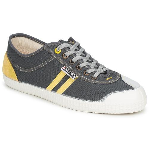 Shoes Low top trainers Kawasaki RETRO Grey / Yellow
