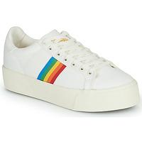Shoes Women Low top trainers Gola ORCHID PLATFORM RAINBOW White / Multicolour