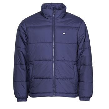 material Men Duffel coats adidas Originals PAD STAND PUFF Sky / De / Night